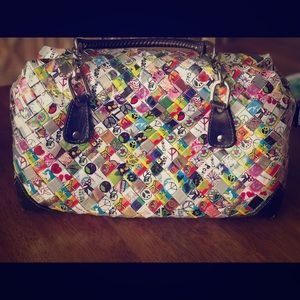 Candy wrapper satchel